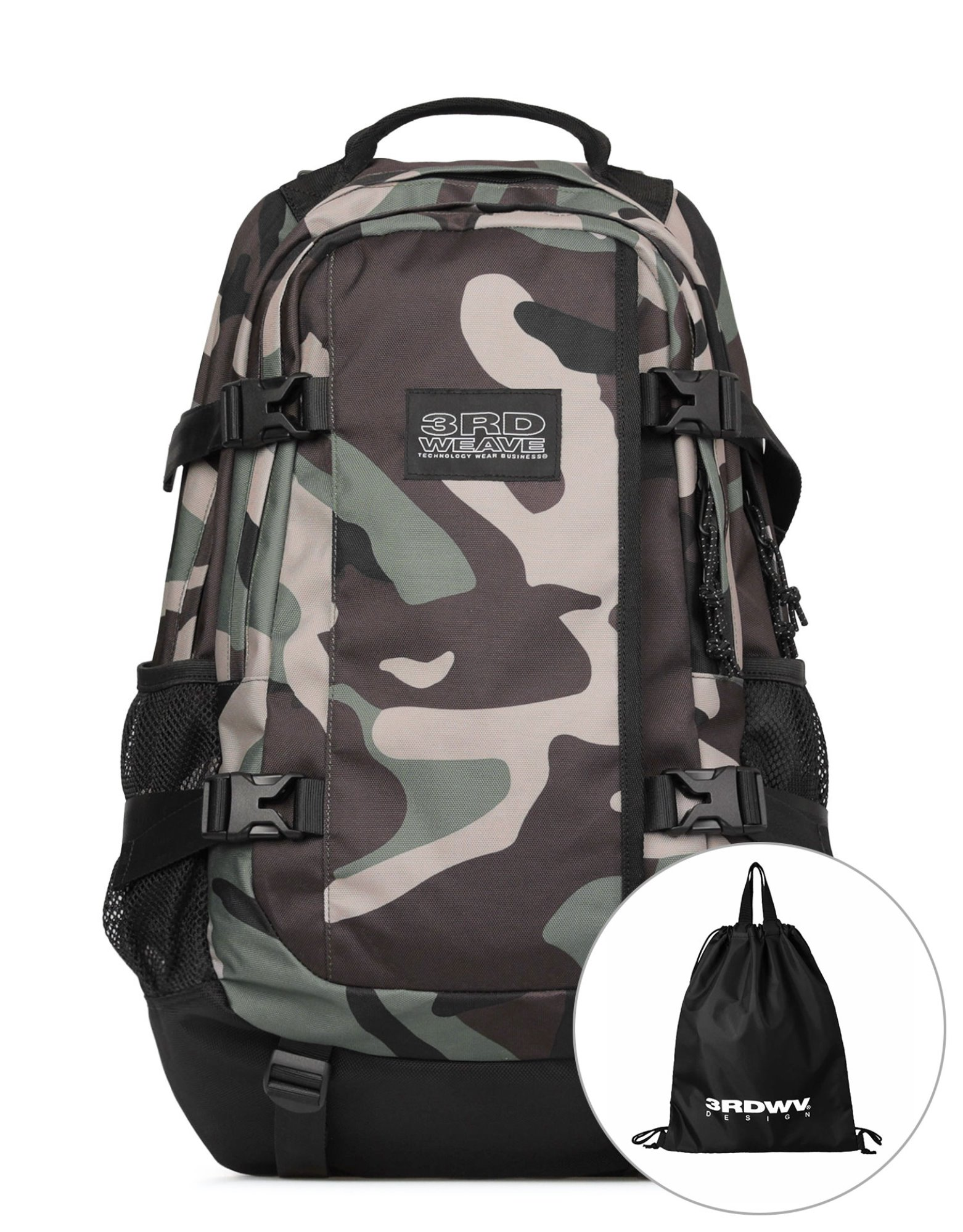 PROTECH BACKPACK / WOODLAND